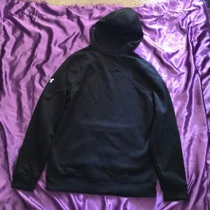 Under Armour Shirts - Under Armour Black Hoody Cold Gear Infrared